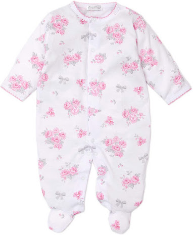 Pink Flower Beautiful Cute Unique Baby Girl Clothes