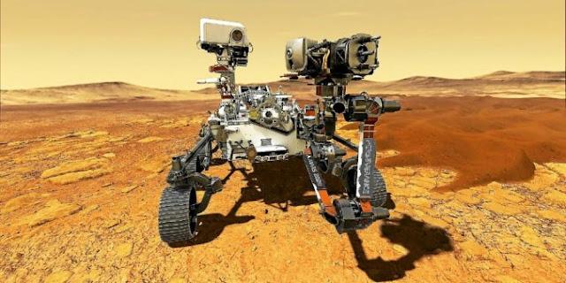 Photo du rover Perseverance - Image AFP PHOTO / Nasa