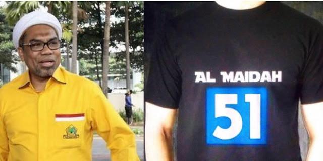 Tolak Pemimpin Kafir, Politisi Golkar Ali Muchtar Ngabalin Ganti Profil Facebooknya dengan Al-Maidah 51