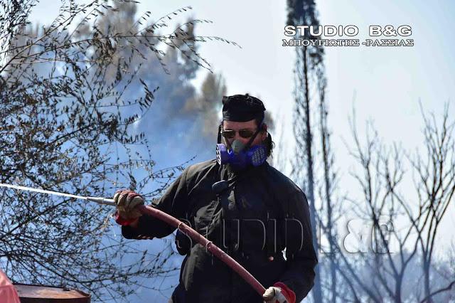 Παπά-Γιάννης Μητροσύλης: 13 χρόνια εθελοντικής προσφοράς στο πυροσβεστικό σώμα