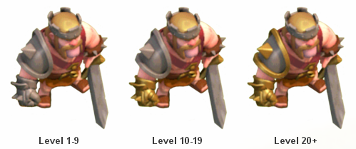 Strategy Clash Of Clans Barbarian King