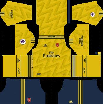 Download Kit DLS Arsenal Away 2019 - 2020
