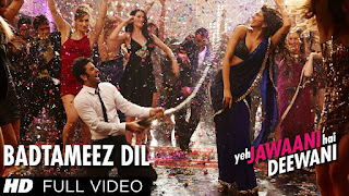 Badtameez Dil - Yeh Jawaani Hai Deewani Full HD Video