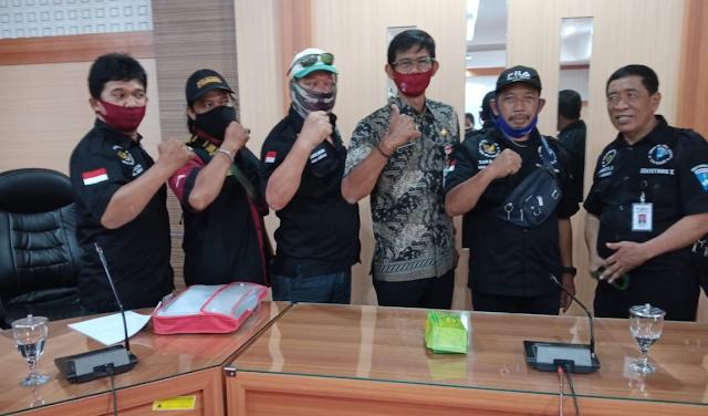 Safari Audiensi DPD LSM Ganas Provinsi Jateng Ke Kantor Kesbangpol