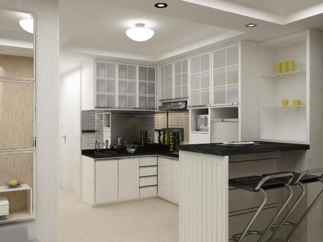 Jasa Arsitek / Desain Apartemen: Studio, Mewah, Type 21, dll