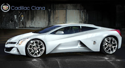 2016 Cadillac Ciana concept car side look image