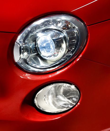 Abarth 500 Xenon Headlight