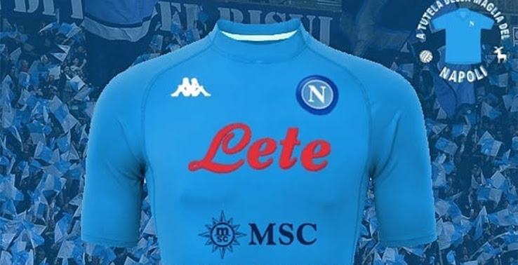 UPDATE: SSC Napoli 20-21 Home Kit Design Leaked - Red Sponsor Text ...