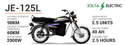 Jolta Electric Bike 125 cc