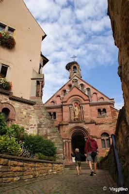 Facciata esterna della Cappella di San Leone