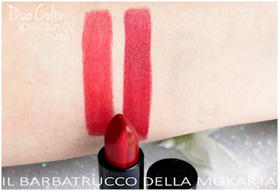 swatches n 03 DueColor Lipstick -  DIVAGE  - StayGlam Collection Spring/Summer 2016
