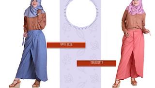 model rok panjang anak muslim