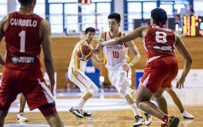 FIBA U19 World Cup - Haowen Gou triple-double