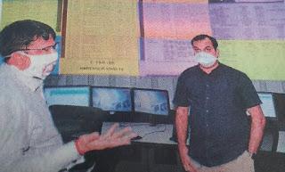 कलेक्टर भरत यादव ने किया कोरोना कंट्रोल रूम का निरीक्षण