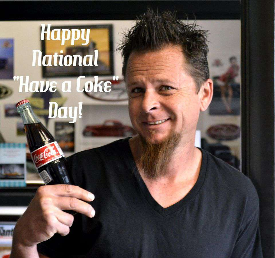 National Have a Coke Day Wishes Images