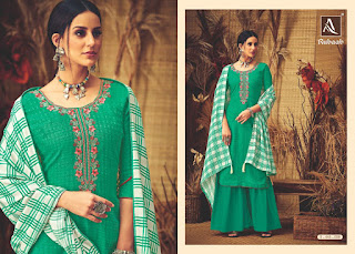 Alok Suits Rubaab Pashmina Salwar Suits Collection