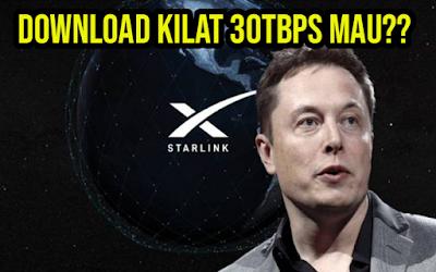 Memiliki Kecepatan Hingga 30TBps, Starlink Meluncur Agustus 2021