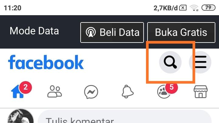 Link Facebook yang benar