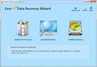 Cara Mengembalikan File dengan EaseUs Data Recovery