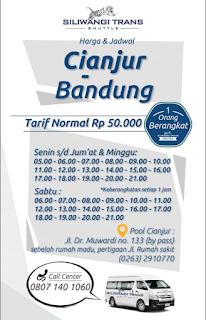 Jadwal Travel Cianjur Bandung