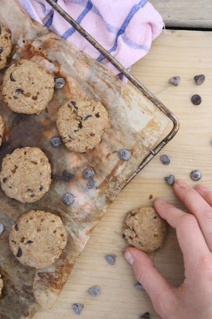 Cookies à la farine de millet brun (vegan)