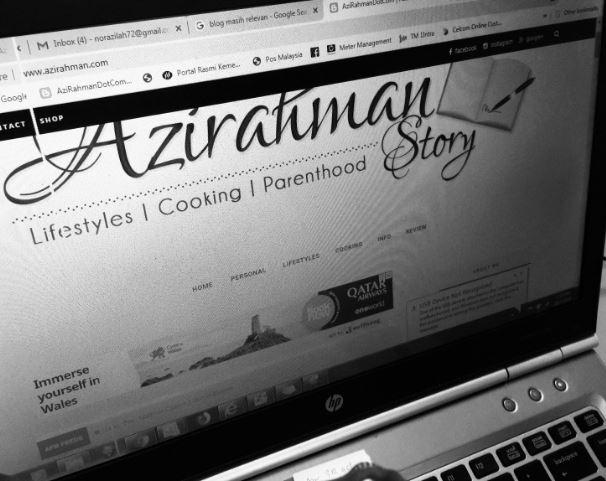 relevan blog, menulis dengan hari, blog istimewa, cerita di blog