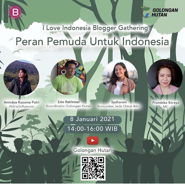 I Love Indonesia Winner Blogger Gathering : Peran Pemuda untuk Indonesia  ©jelajahsuwanto