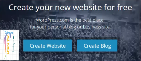 How to create free blog on wordpress.com
