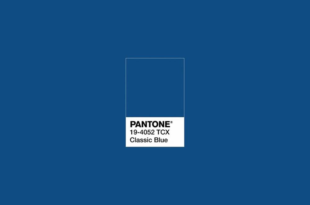 Classic blue é a cor da pantone!