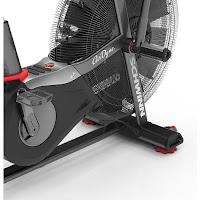 Schwinn AD Pro, perimeter weighted flywheel