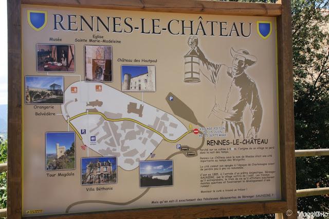 Visitare Rennes le Chateau in camper