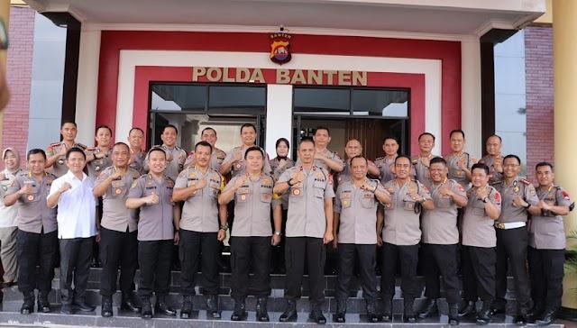 Kapolresta Tangerang Bersama 986 Orang Polda Banten Naik Pangkat