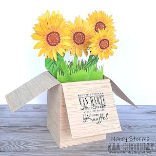Floral 3D card