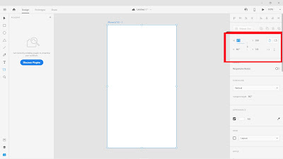 how to setting adobe xd resolution