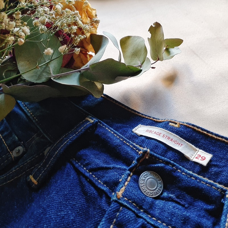 blog afro vêtements endometriose jean levi's ribcage