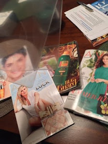 Packing Avon Brochures to Toss & Lots Of Tips for AVON REPS!