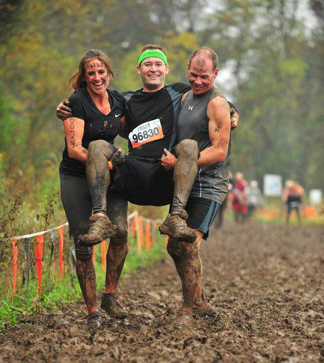 Tough Mudder Wounded Warrior Carry