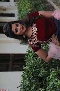Actress Aathmika in lovely Maraoon Choli ¬  Exclusive Celebrities galleries 040.jpg