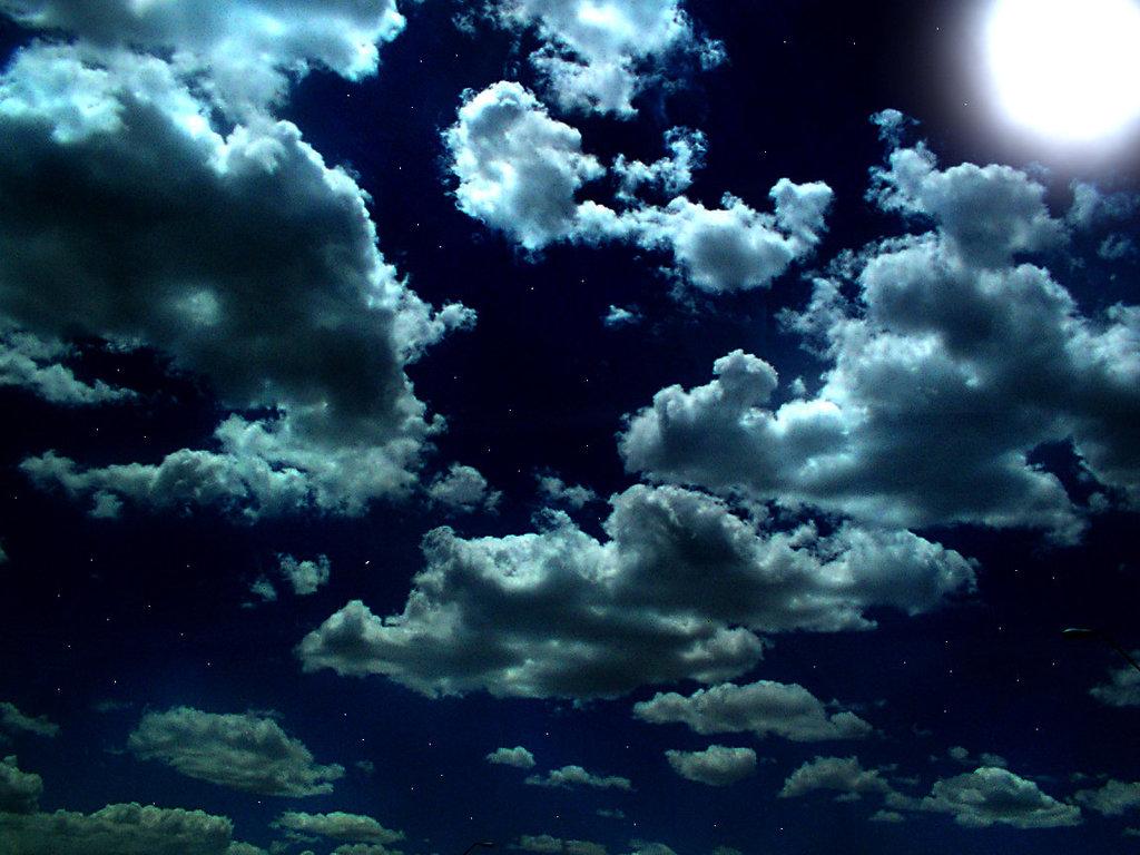 Night Moon Romance Love Stars Sky Clouds Wallpaper: Natasha Menon's Blog