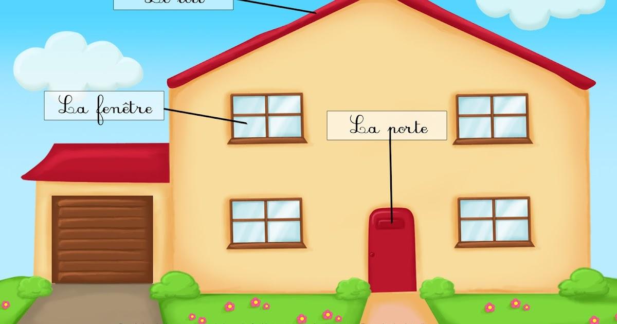 Toi de d couvrir la maison vocabulaire for Decouvrir maison