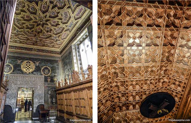 Sala Capitular da Catedral de Toledo, Espanha
