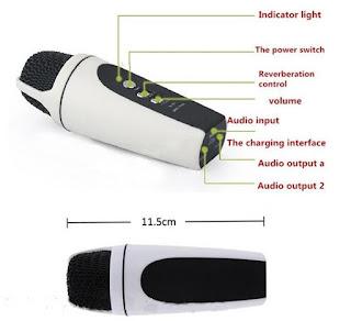 Review Microphone SF 690 Untuk Smule Karaoke