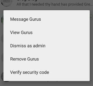 dismiss or demote admin