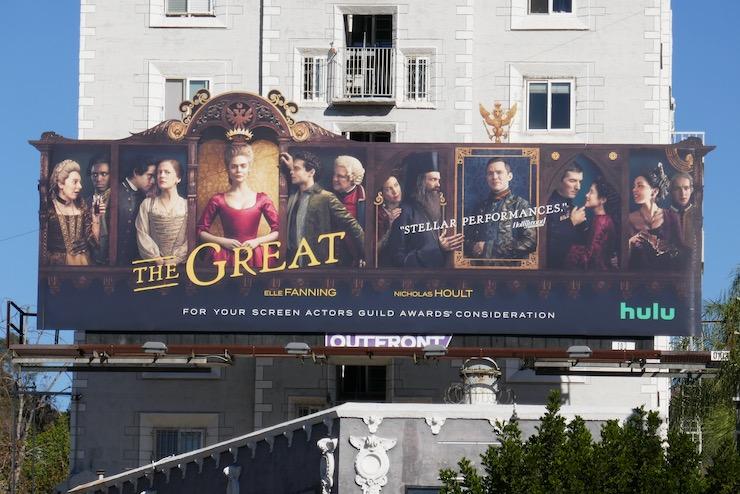 Great 2020 FYC cutout billboard