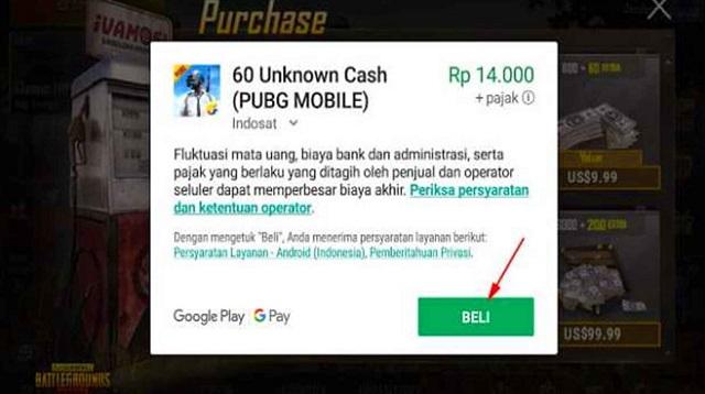 Cara Hack Rp PUBG Mobile