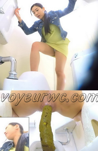 [SL-227] Girls Go To Toilet Pooping