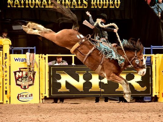 Teenager Ryder Wright Transformed Into A Rodeo Star Last Season In Las Vegas When He Won Four Straight Acclimates To Initiate NFR Organizing The World