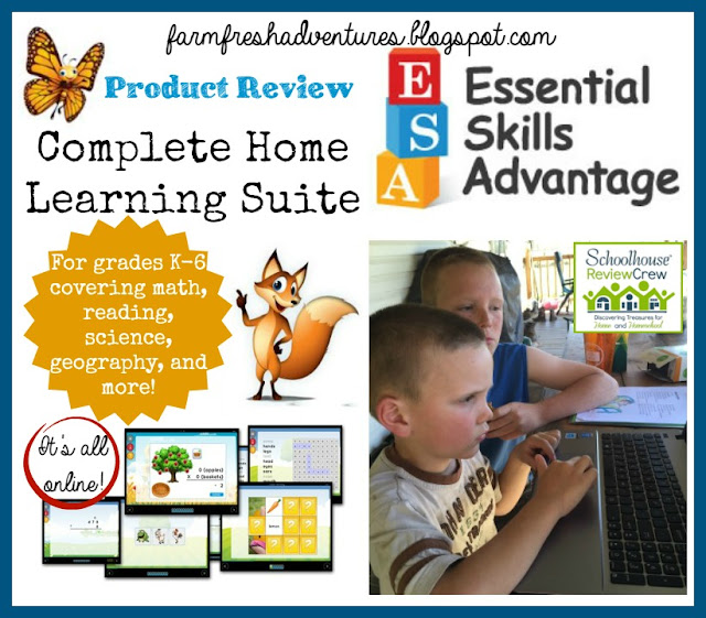 Complete Home Learning Suite from ESA~ Product Review