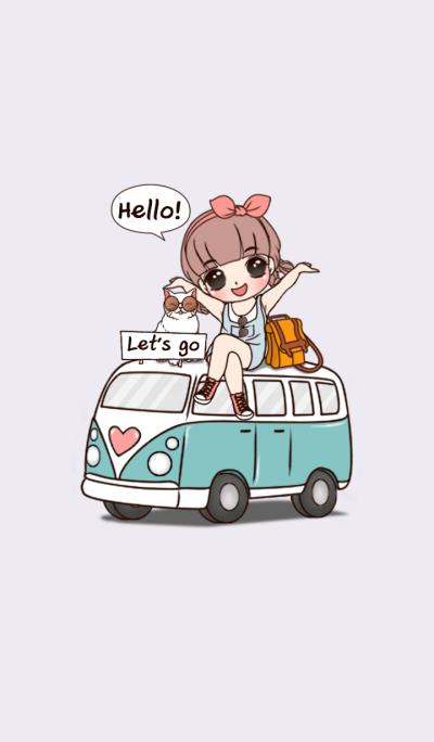 Nami Cute girl theme