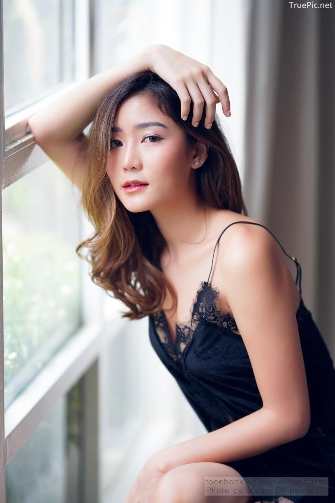 Thailand hot model Pattaravadee Boonmeesup vs Photo album Black Magic Sleepwear - Picture 4